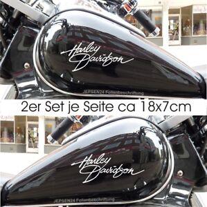 2-Aufkleber-Harley-Tankaufkleber-2er-Set-18cm-HD2-Tank-Aufkleber-Farbauswahl
