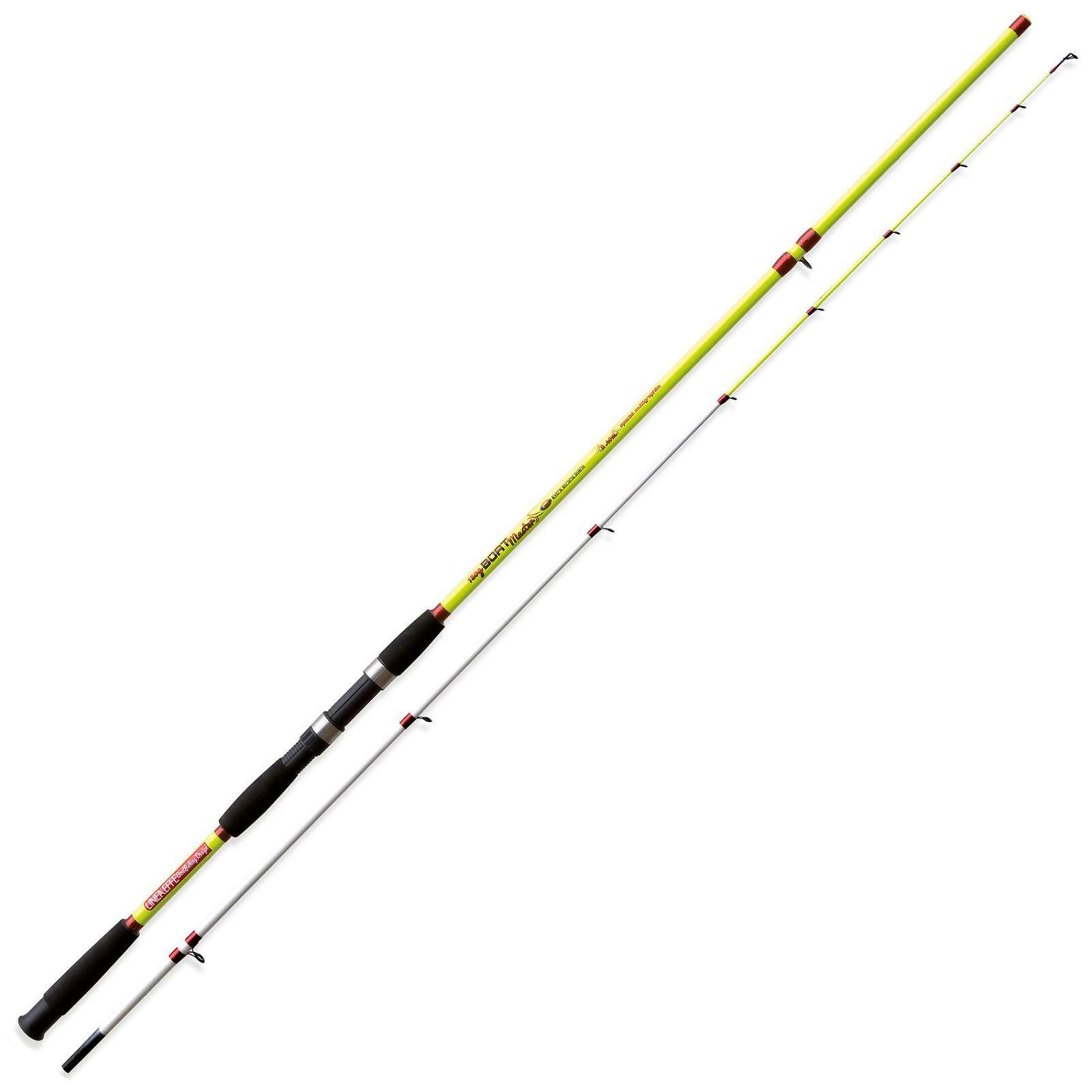 2230024 Canna Lineaeffe Boat Master 2,40 m 150 Gr Pesca Bolentino Light Jig RNG