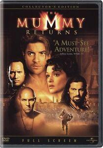 Brand-New-DVD-The-Mummy-Returns-Full-Screen-Collector-039-s-Edition-Brendan-Fraser