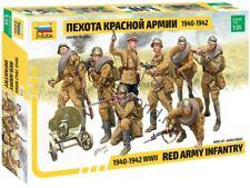 Zvezda Model 3526 Red Army Infantry 1940-1942 WWII