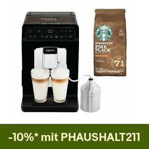 Krups EA 8918 Evidence Kaffeevollautomat Kaffeemaschine STARBUCKS Bundle
