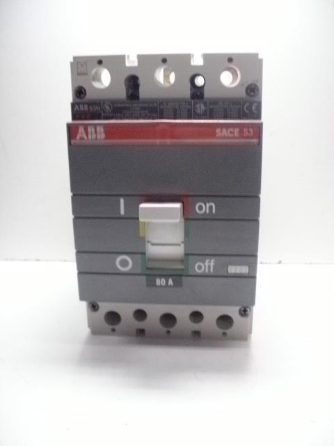 ABB SACE S3n Circuit Breaker 3 Pole 150 Amp Abb Wiring Diagrams on