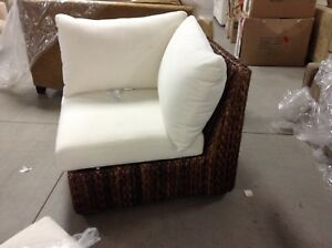 Image Is Loading 1 Pottery Barn Seagr Square Arm Outdoor Sectional