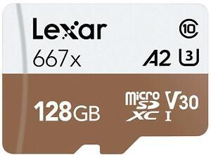 progettata per smartphone Android con adattatore per scheda SD tablet Scheda di memoria micro SD SDXC ad alta velocit/à da 128 GB