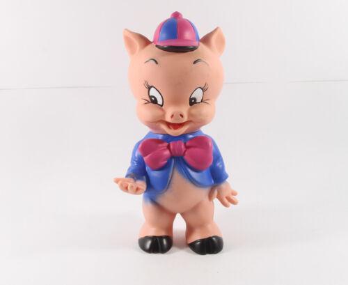 Looney Tunes === Schweinchen Dick Figur blaue Jacke Spardose Haco