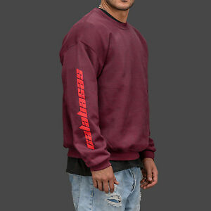 697c7c2aa7f5d Image is loading Calabasas-Burgundy-Black-White-Season-5-Sweatshirt-Jumper