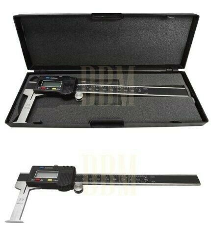 "Digital 6/"" Inside Groove Vernier Caliper Ruler Micrometer Gauge Indicator"