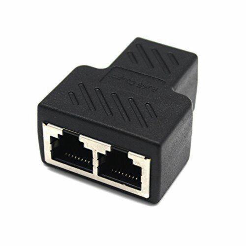 Extender Coupler Jointer Plug for PC RJ45 CAT5 6 LAN Ethernet Splitter Adapter