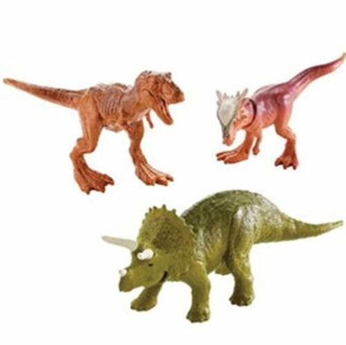 Jurassic World T-Re Fallen Kingdom Dino-Mites 3-Pack Mini-Figure Triceratops