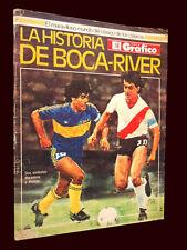 SOCCER History BOCA JRS Vs RIVER PLATE - El Grafico Special Magazine 1987