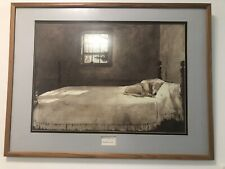 Master Bedroom Andrew Wyeth House Sleeping Dog Bed Poster Print 28 X 22 For Sale Online Ebay