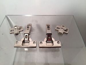 Details About Lot Of 2 Hettich Cabinet Door Concealed Hinge Ecomat 9843 With Base Plate