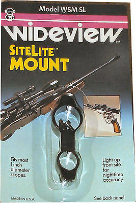 WIDEVIEW FLASH LIGHT SCOPE MOUNT FOR 3//4 FLASH LIGHT NEW mount or paint ball