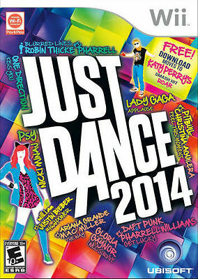 Just Dance 2014  for Nintendo Wii. New & Factory sealed.