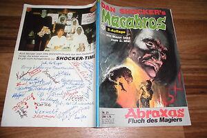 MACABROS # 21 -- ABRAXAS - FLUCH des MAGIERS // von DAN SHOCKER - Mühlacker, Deutschland - MACABROS # 21 -- ABRAXAS - FLUCH des MAGIERS // von DAN SHOCKER - Mühlacker, Deutschland