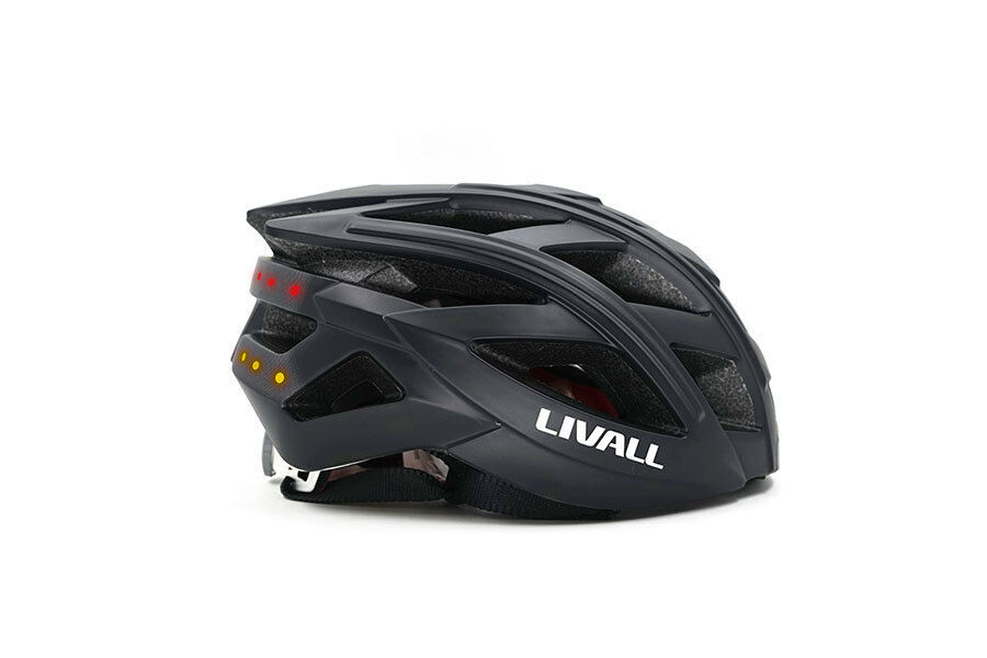 Livall bh60se 2018 Smart bicicleta casco azultooth luz trasera intermitentes app salga impune