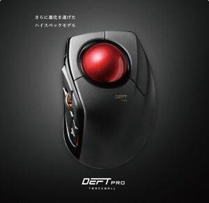 Elecom Trackball Mouse M-DPT1MRXBK con Filo / senza Fili/ Bluetooth DEFT PRO