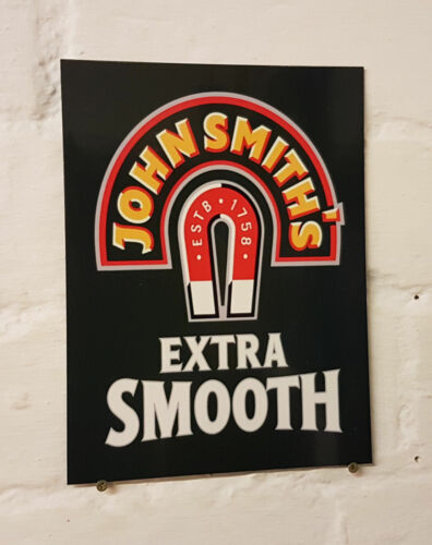 bar John Smiths METAL BEER SIGN 2 Sizes Available ideal for pub Man Cave