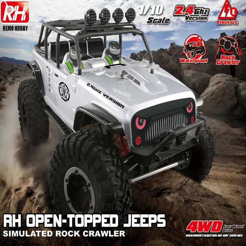 1 10 Remo Hobby 1073-SJ RC coche Cochereras off-road Rock Control Remoto Listo Para Correr Rock Crawler Hot