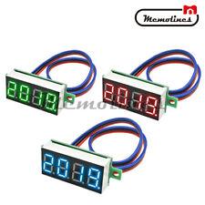 036 Digital 4 Digit Voltmeter Led 0 100v Voltage Tester Panel Meter 3 Wire