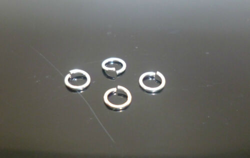 4 x sterling silver open jump rings 5mm jewellery making ring repair o ring