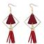 Vintage-Women-Wood-Triangle-Tassel-Ear-Stud-Drop-Dangle-Earrings-Jewelry-Gift thumbnail 2