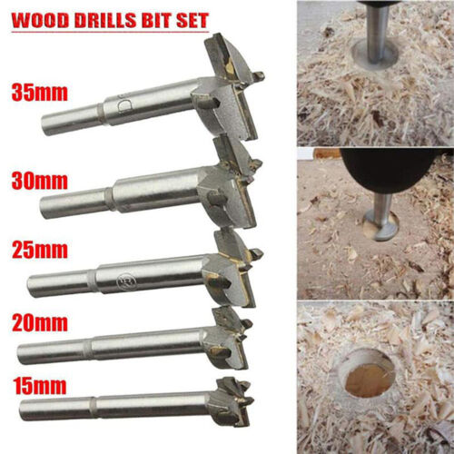 Details about  /5pc Drill Bit Hole saw Carbide Cutting Drilling Tool Opener Accessories