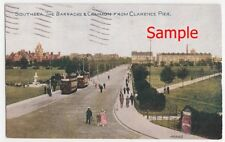 Southsea The Barracks & Common Postcard posted 1935