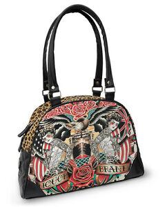 motard Damen Hail up boissons tattoo de style alcoolisées bag Marque Handtasche Mary pin rockabilly wqIOtxvf