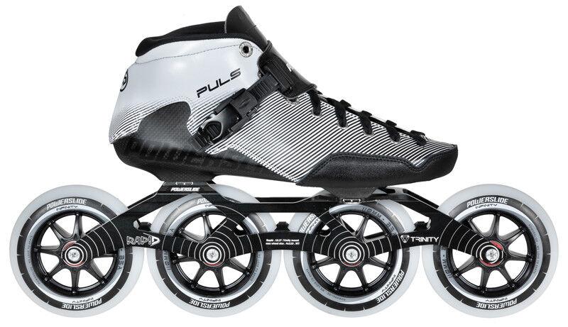 Powerslide Puls Trinity komplett Speed Skates 4x 110mm Rollen