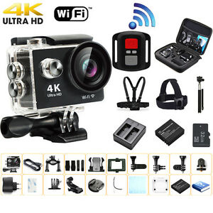 Ultra-HD-4K-Waterproof-WiFi-Action-Camera-Sports-Cam-DV-Accessories-For-Gopro