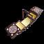 miniatura 3 - Caja de Costura de Madera 35CM En Marrón Oscuro de Color