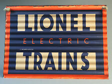LIONEL ELECTRIC TRAINS CORRUGATED IRON WALL HANGING train metal sign 9-42063 NEW