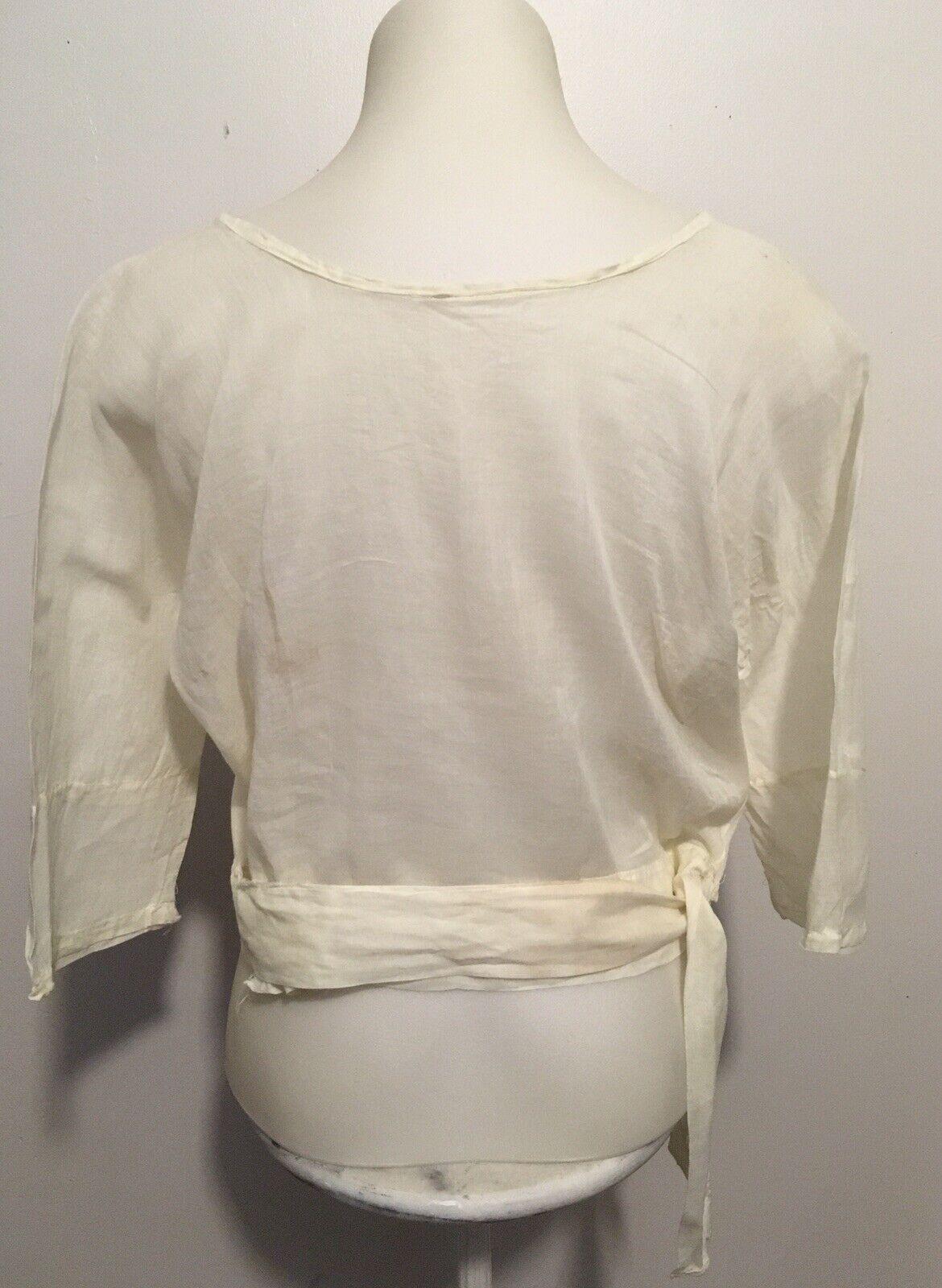 Antique Edwardian Victorian Shirtwaist Blouse - image 12