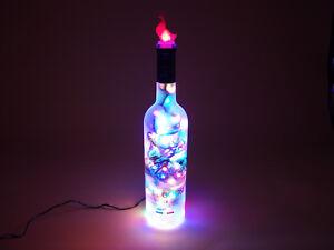 Flaschen-Lampe-GREY-GOOSE-Vodka-mit-80-LEDs-Warmweiss-Multicolor-UMSCHALTBAR