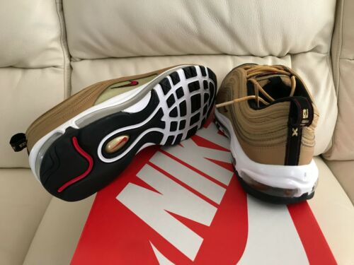 Tutte 7 9 Bullet Nike 8 Metallic taglie Max Nuovo 11 6 10 2017 Gold le 97 Uk Air n06Yxqw7