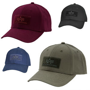 huge selection of 22070 4bb77 Details about Alpha Industries Cap Trucker Men's One Size Adjustable New