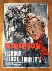 Rebellion-B-Kinoplakat-62-Alec-Guinness-Dirk-Bogarde