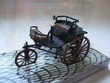 Benz Patent Motorwagen car 1886 1Zyl 0,99 Ltr 0,89 PS schwarz, Cursor 1:43 boxed
