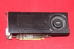 PCI-Express Carte graphique MSI GeForce GTX 760 2 Go GDDR 5 (N760-2GD5/OC)