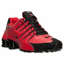 Nike Shox NZ Shoe Mens size 8.5 378341-600 University Red