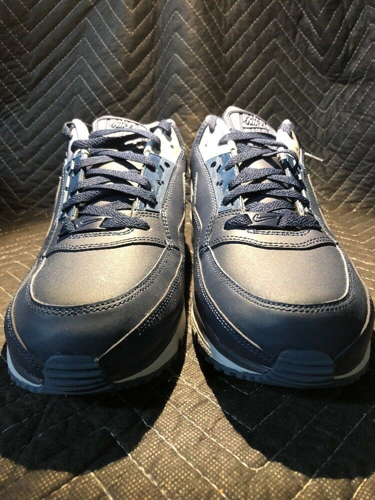 Nike Air Max LTD 3 Mens Shoe Sz 14 Obsidian/Squadron Blue/Wlf Gry 810880-440