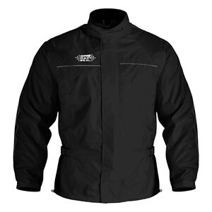 Oxford-Rain-Seal-All-Weather-Black-100-Waterproof-Motorcycle-Over-Jacket-RM100