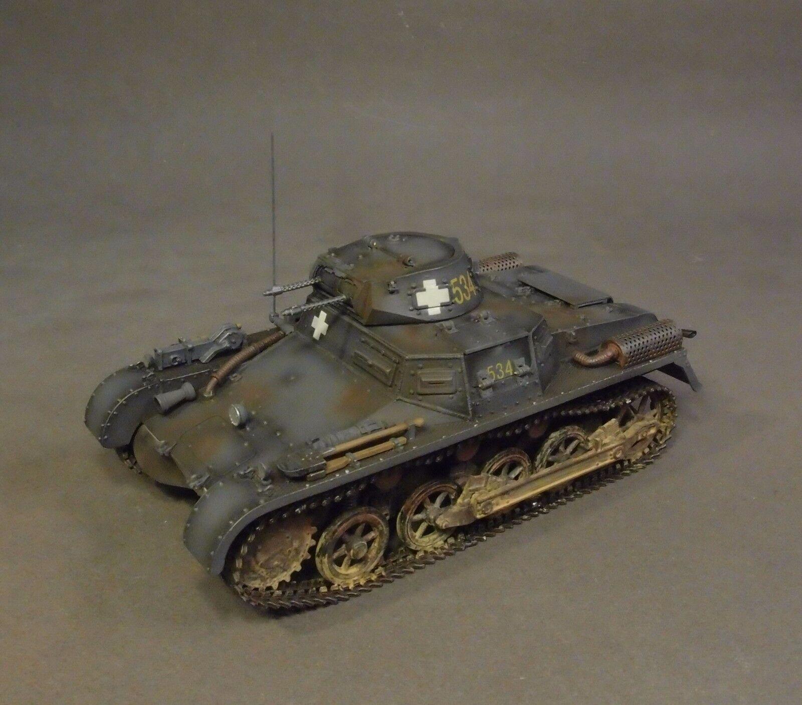 John Jenkins WW2 Deutsch GA-11A Panzerkampfwagen 1 Ausführung A Tank Set Polen