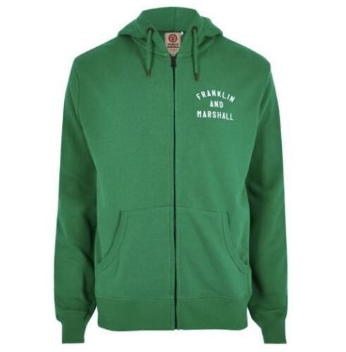Franklin Mannensweater 2xl groen met capuchon 8059960805868 Marshall Z6Zwg