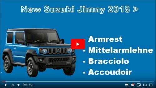 SUZUKI JIMNY 2019 Bracciolo regolabile ecopelle nero portaoggetti RIBALTABILE @@