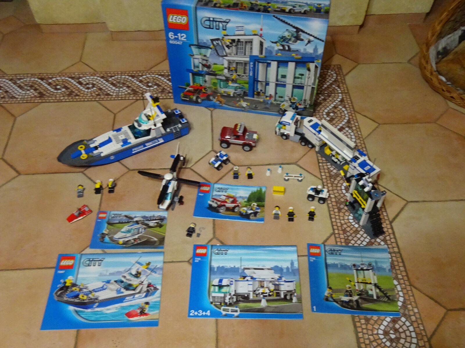 LOT LEGO CITY  60047  Commissariat de police - NEUF 4437774172877743 COMPLT