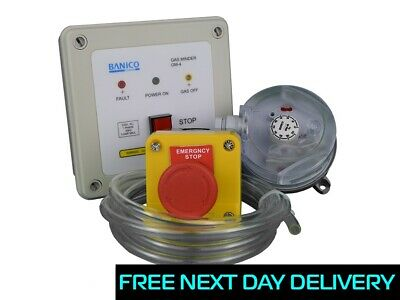 Full Gas Interlock Minder Safety Kit For Commercial Kitchen Extraction Isp 3 Ebay