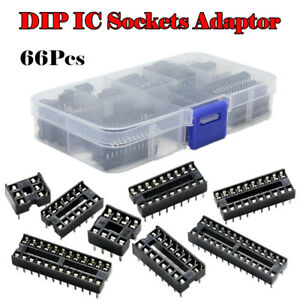 1-Set-DIP-Integrated-Circuit-IC-Sockets-Adapter-Solder-6-8-14-16-18-20-24-28-Pin