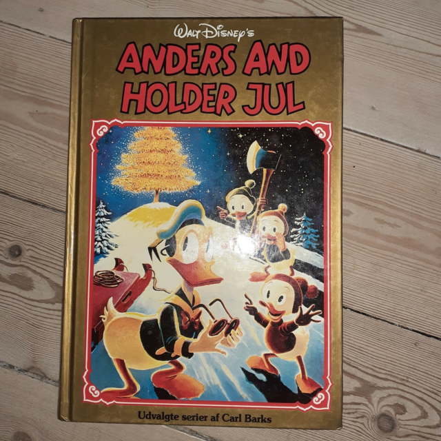 Anders and holder jul, Carl Barks, Tegneserie, Anders and…